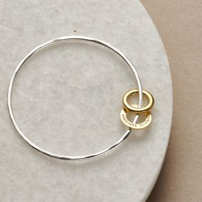 Personalised Secret Circle Bangle