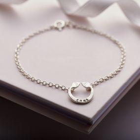 Personalised Mini Share A Hug Bracelet