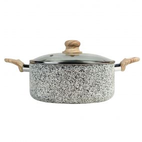 Speckled Grey Cooking Pot