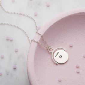Personalised Spinner Necklace