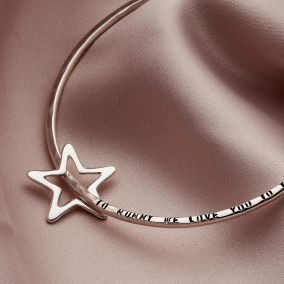 Personalised Star Bangle