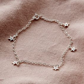 Personalised Star Station Bracelet