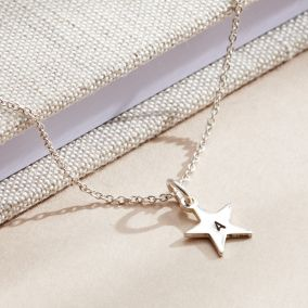 Personalised Initial Star Charm Bracelet