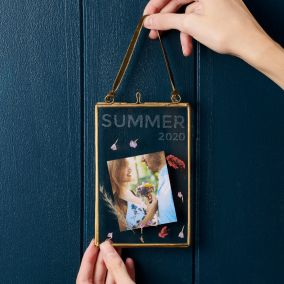Personalised Memories Hanging Photo Frame