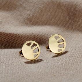 Sunburst Stud Earrings