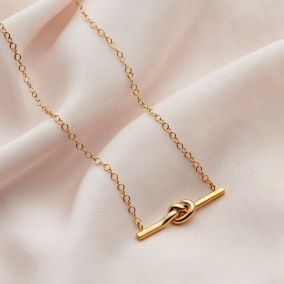 Personalised Tie The Knot Necklace