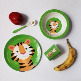 Tiger Melamine Tableware Set
