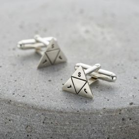 Personalised Prism Cufflinks