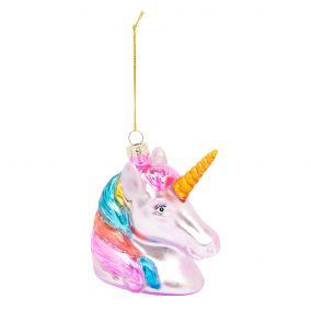 Kitsch Unicorn Christmas Decoration