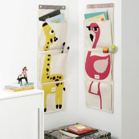 Children's Animal Wall Organiser