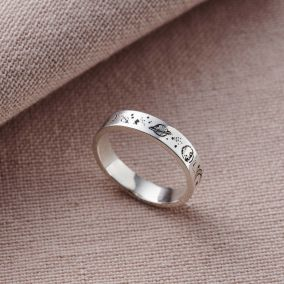 Personalised Love The Earth Ring