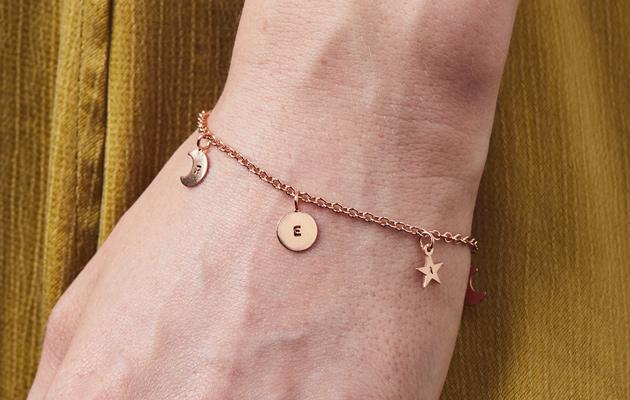 model wearing station bracelet