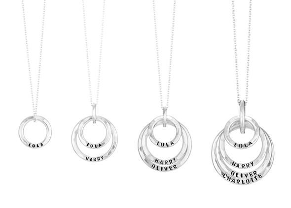 family names necklaces