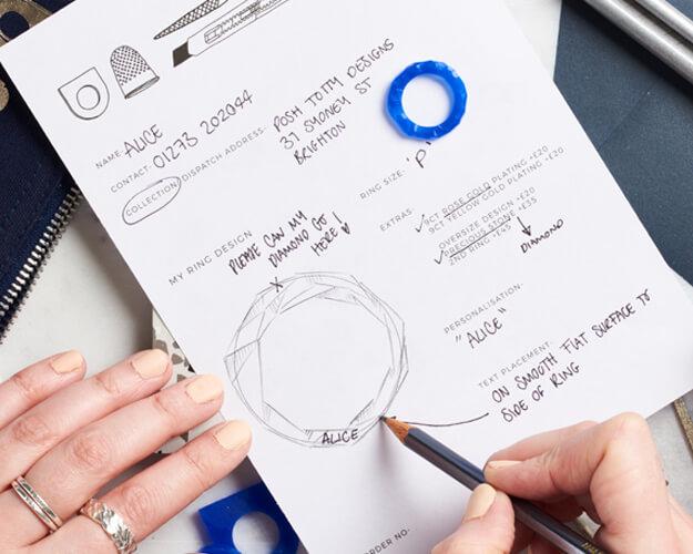 Ring Making Order Form