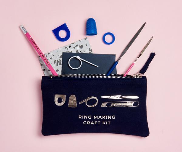 silver ring making kit
