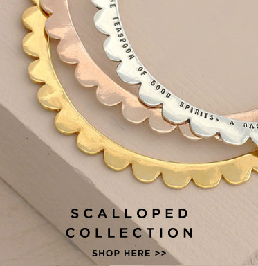 Scalloped Jewellery Collection | Shop Now