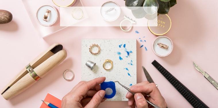 Personalised Silver Ring Making Workshops