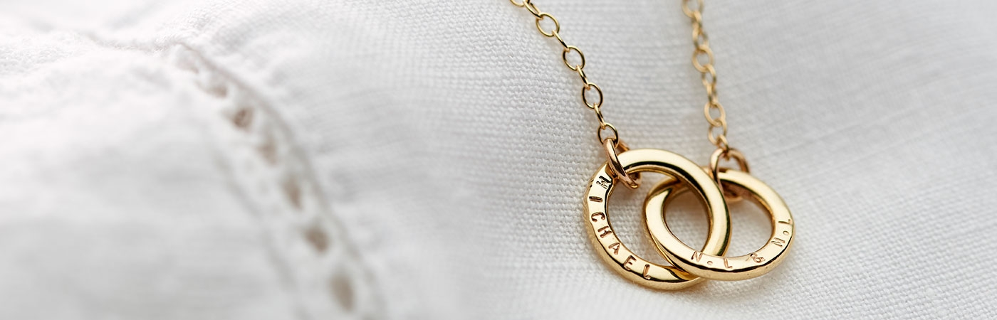 Personalised 9ct Gold Necklace