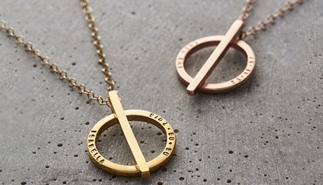Circle Necklace Sale
